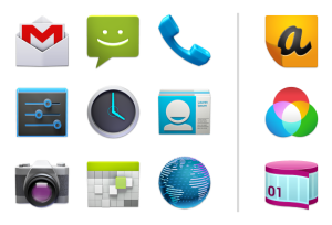 android icones lancement
